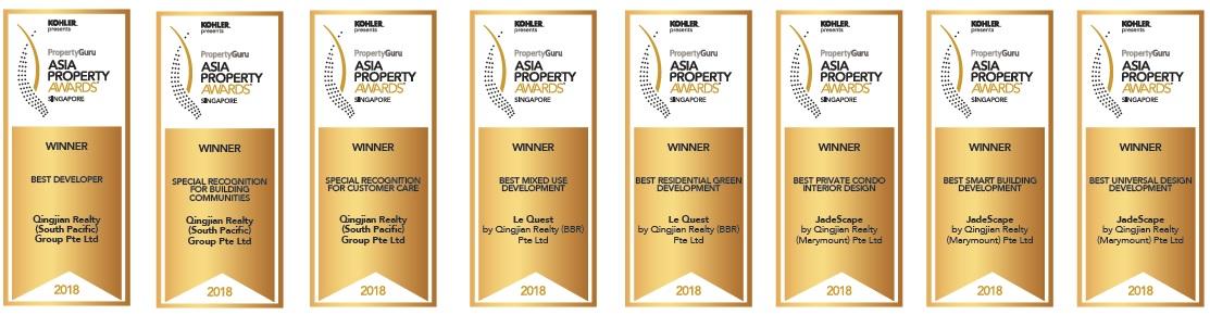 jadescape qingjian awards